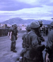Troops arrive in Danang